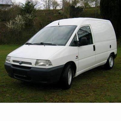 Autó izzók két halogén izzóval szerelt Fiat Scudo (1996-2003)-hoz