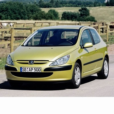 For Peugeot 307 (2001-2005) with Halogen Lamps