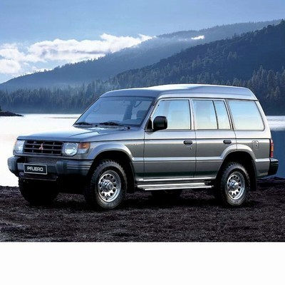 For Mitsubishi Pajero (1990-1999) with Halogen Lamps