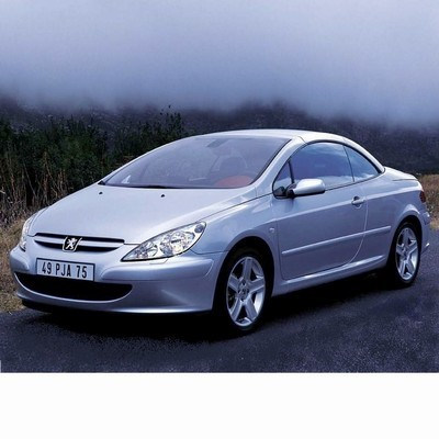 For Peugeot 307 Coupe (2003-2005) with Halogen Lamps