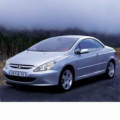 Autó izzók halogén izzóval szerelt Peugeot 307 Coupe (2003-2005)-hoz