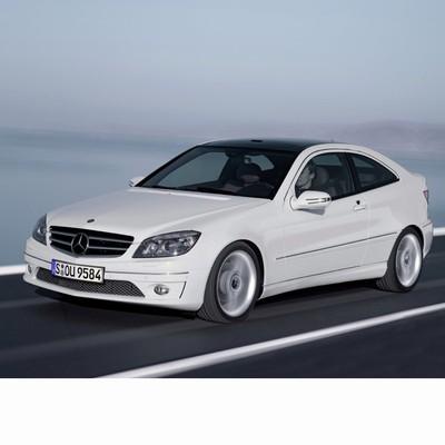 Autó izzók bi-xenon fényszóróval szerelt Mercedes C Sportcoupe (2008-2011)-hoz