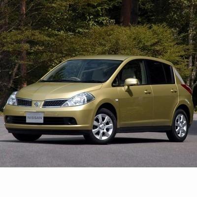 Autó izzók halogén izzóval szerelt Nissan Tiida (2004-2012)-hoz