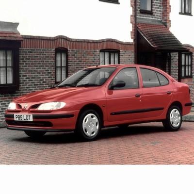 Autó izzók két halogén izzóval szerelt Renault Megane Sedan (1996-2003)-hoz