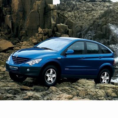 Autó izzók halogén izzóval szerelt Ssangyong Actyon (2005-2011)-höz