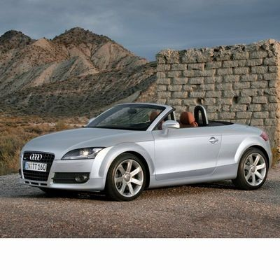 For Audi TT Roadster (2007-2014) with Halogen Lamps