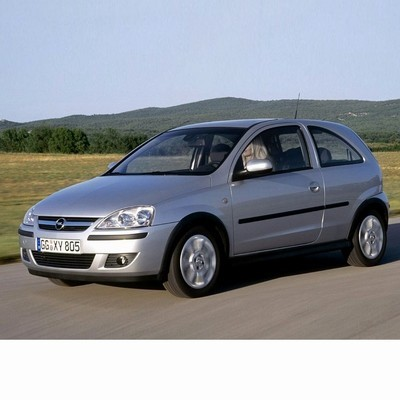 Autó izzók projektoros rendszerű halogén tompított fényszóróval szerelt Opel Corsa C (2000-2006)-hez