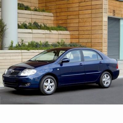 Autó izzók halogén izzóval szerelt Toyota Corolla Sedan (2001-2004)-hoz