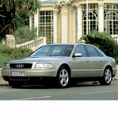 For Audi A8 (1994-1998) with Halogen Lamps