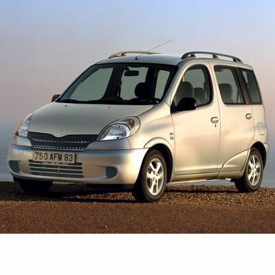 Autó izzók halogén izzóval szerelt Toyota Yaris Verso (1998-2005)-hoz
