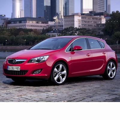 Opel Astra J (2010-) autó izzó