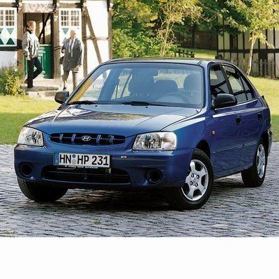 Autó izzók halogén izzóval szerelt Hyundai Accent (2000-2005)-hez