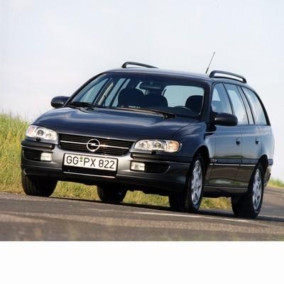 Autó izzók halogén izzóval szerelt Opel Omega B Kombi (1997-1999)-hoz
