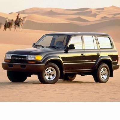 Autó izzók halogén izzóval szerelt Toyota Land Cruiser J8 (1990-1998)-hoz