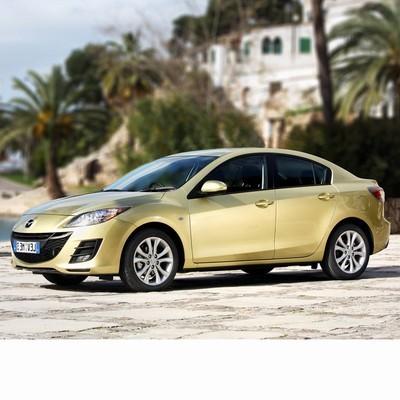 For Mazda 3 Sedan (2008-2011) with Halogen Lamps