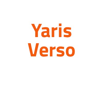 Toyota Yaris Verso autó izzó