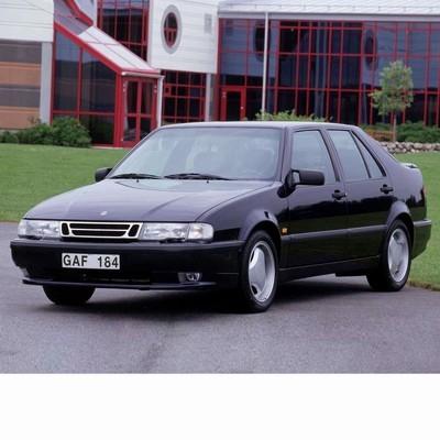 Autó izzók két halogén izzóval szerelt Saab 9000 (1984-1998)-hez