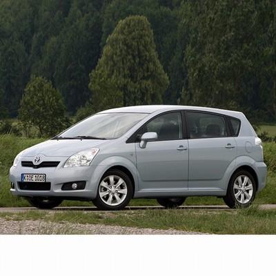 Autó izzók halogén izzóval szerelt Toyota Corolla Verso (2007-2009)-hoz