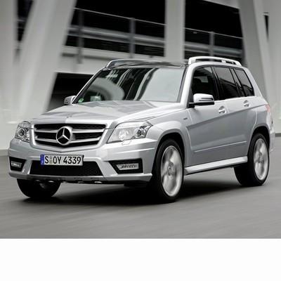 Autó izzók bi-xenon fényszóróval szerelt Mercedes GLK (2009-2012)-hoz