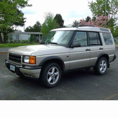 Autó izzók halogén izzóval szerelt Land Rover Discovery (1998-2004)-hez