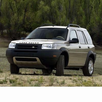 Autó izzók két halogén izzóval szerelt Land Rover Freelander (1998-2006)-hez