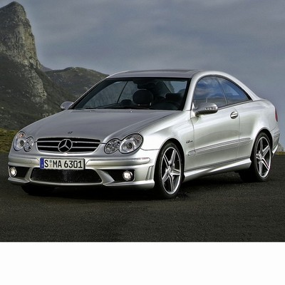 For Mercedes CLK (2002-2005) with Halogen Lamps