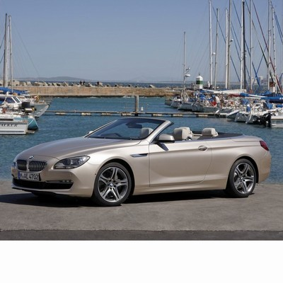 For BMW 6 Cabrio (F12) after 2011 with LED