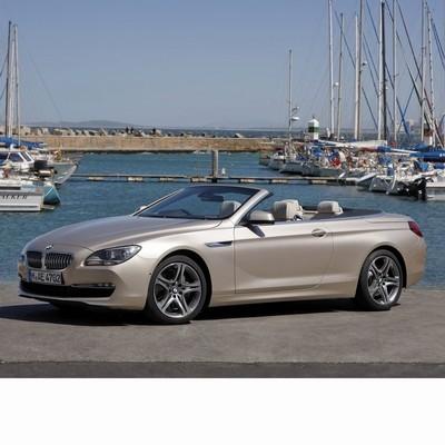 Autó izzók a 2011 utáni ledes fényszóróval szerelt BMW 6 Cabrio (F12)-hoz