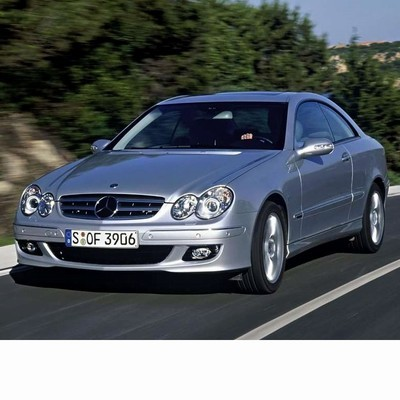 For Mercedes CLK (2005-2009) with Halogen Lamps