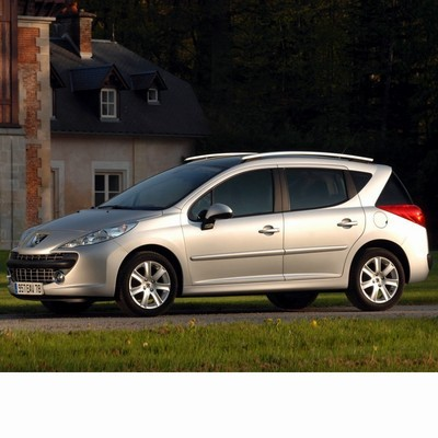 For Peugeot 207 Kombi (2007-2009) with Halogen Lamps