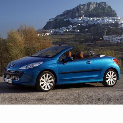 Peugeot 207 CC (2007-2012) autó izzó