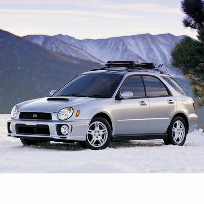 For Subaru Impreza Kombi (2000-2002) with Halogen Lamps