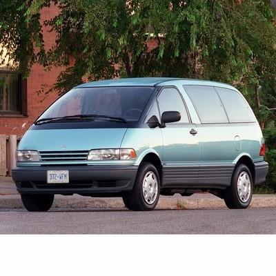 Autó izzók halogén izzóval szerelt Toyota Previa (1990-2000)-hoz