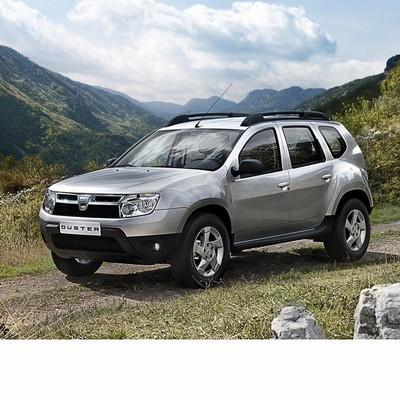 Autó izzók a 2010 utáni halogén izzóval szerelt Dacia Duster-hez