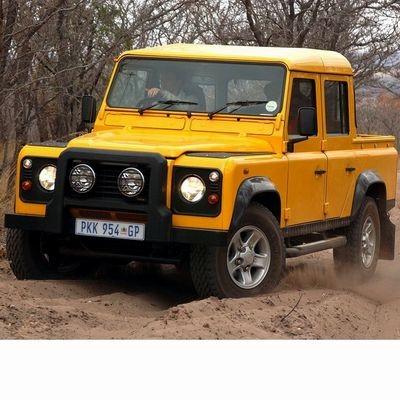 Autó izzók az 1995 utáni halogén izzóval szerelt Land Rover Defender Pick-Up-hoz