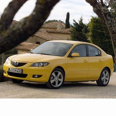 For Mazda 3 Sedan (2003-2008) with Halogen Lamps