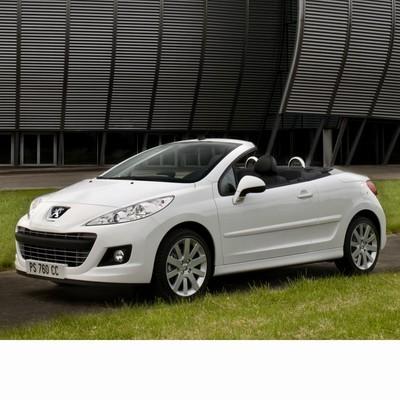 Autó izzók halogén izzóval szerelt Peugeot 207 CC (2009-2012)-hez