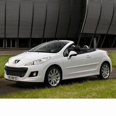 For Peugeot 207 CC (2009-2012) with Halogen Lamps