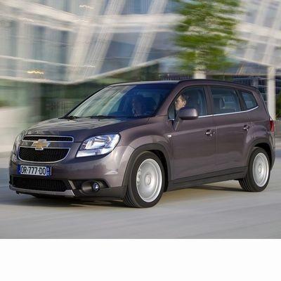 Autó izzók a 2010 utáni halogén izzóval szerelt Chevrolet Orlando-hoz